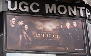 New Moon billboard in Montparnasse, Nov 09