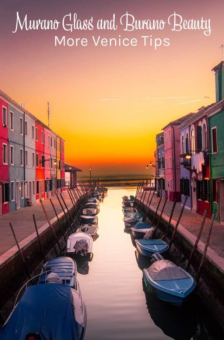 Burano - Murano - Venice Tips