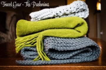 Travel Gear - The Pashmina