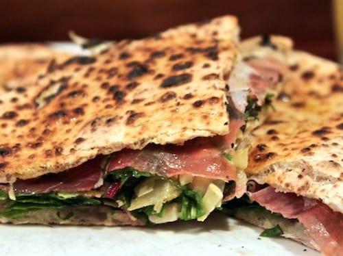 Keste Pizza Sandwich__Prosciutto Artichoke Cheese