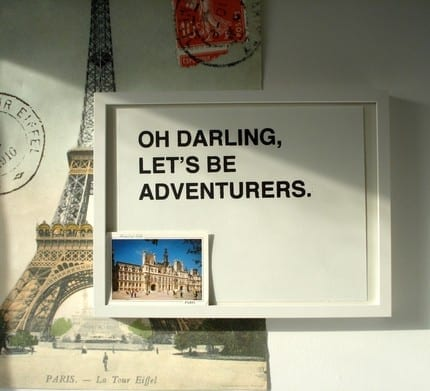 oh-darling let's be adventurous