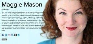 about me maggie mason