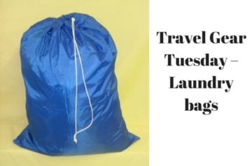 Travel Gear Tuesday – Laundry bags
