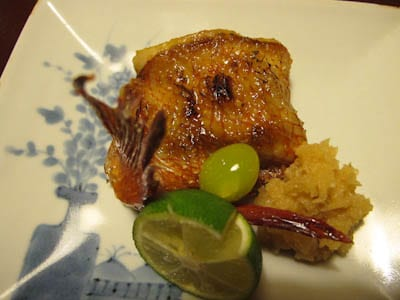 Grilled-fish-with-ginkgo-berry
