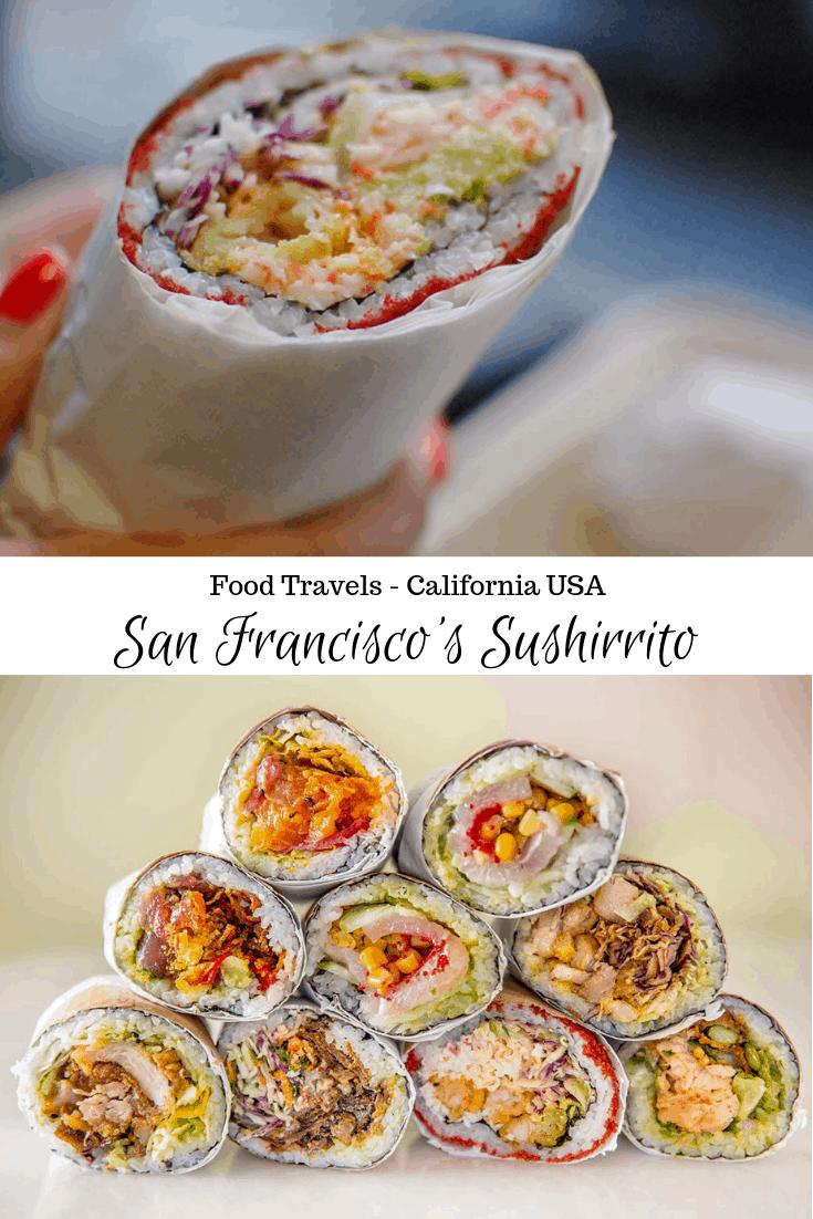 San Francisco Sushirrito