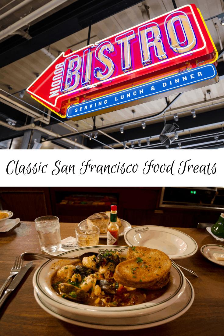 Classic San Francisco Food Treats