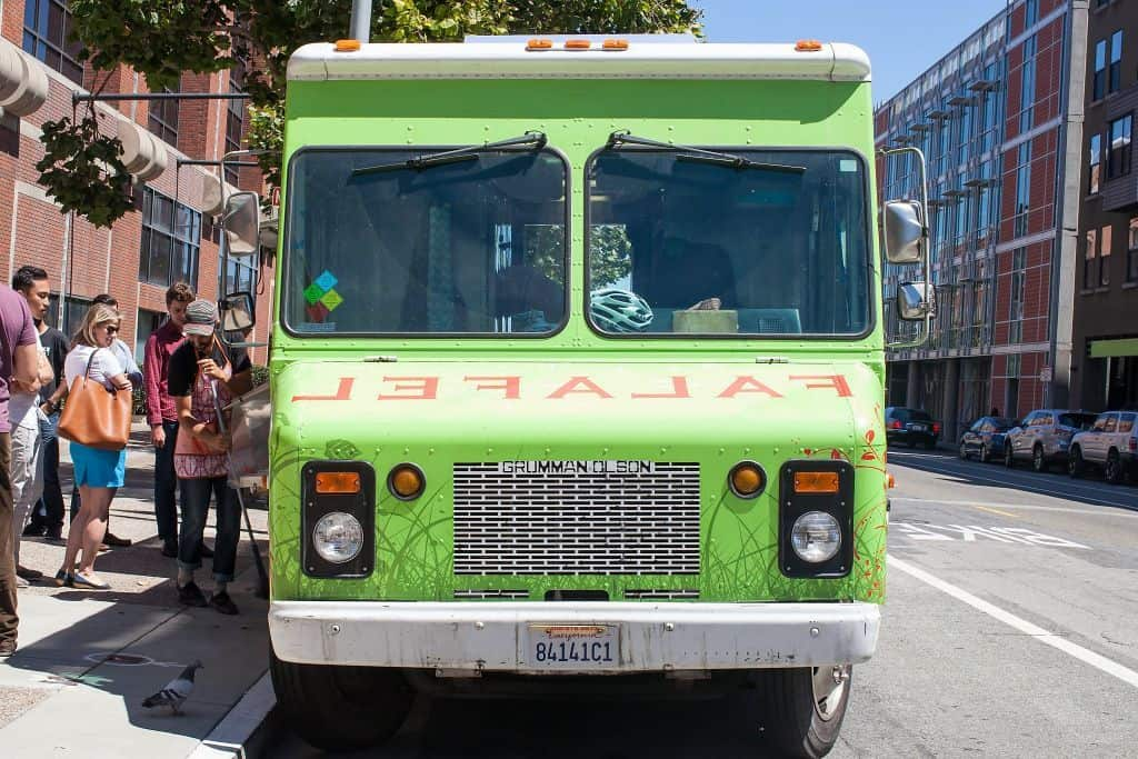 Liba Falafel Truck San Francisco