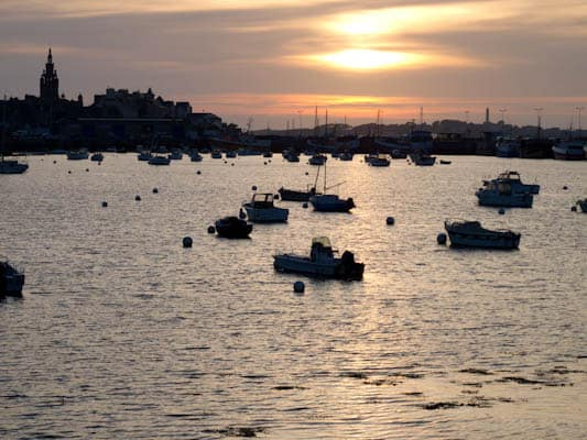 roscoff-sunset