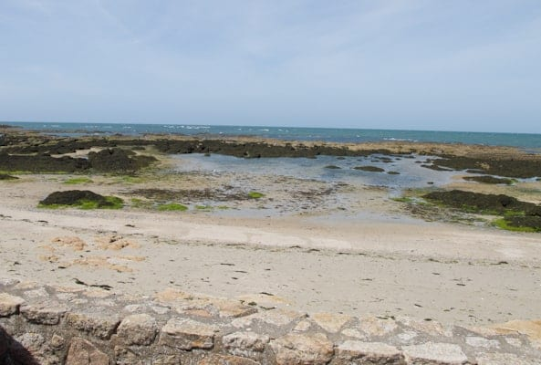 Poudrantais beach