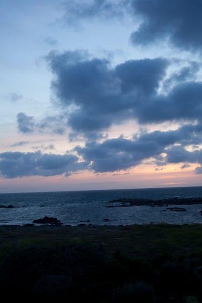 Le Fort de l'Ocean sunset