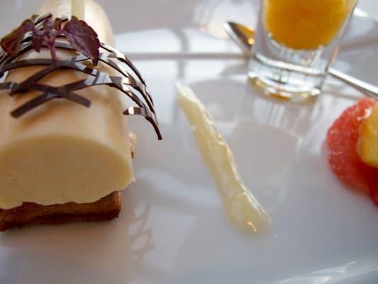 Desserts at the Restaurant at Le Fort de l'Ocean