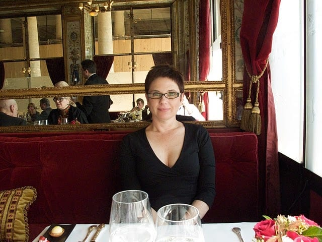 Eating at Le Grand Vefour in Paris
