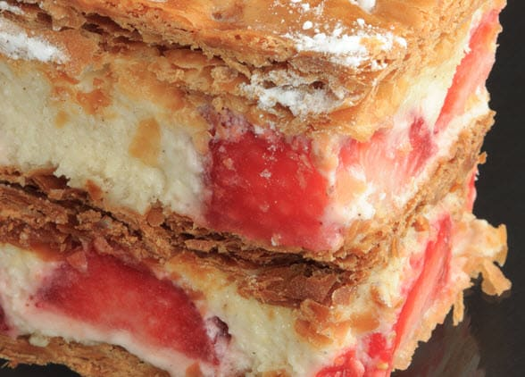strawberry-millefeuille