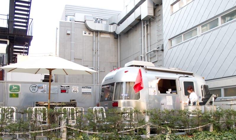 Airstream Cafe Near Takeshita, Toyko, Japan