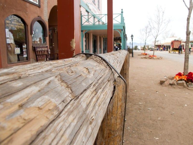 Tombstone-Arizona-Hitching-Post