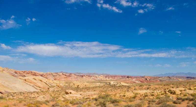 Valley of Fire State Park Rainbow Vista