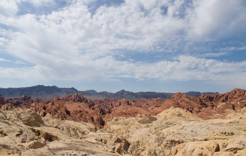 Valley of Fire State Park Fire Canyon