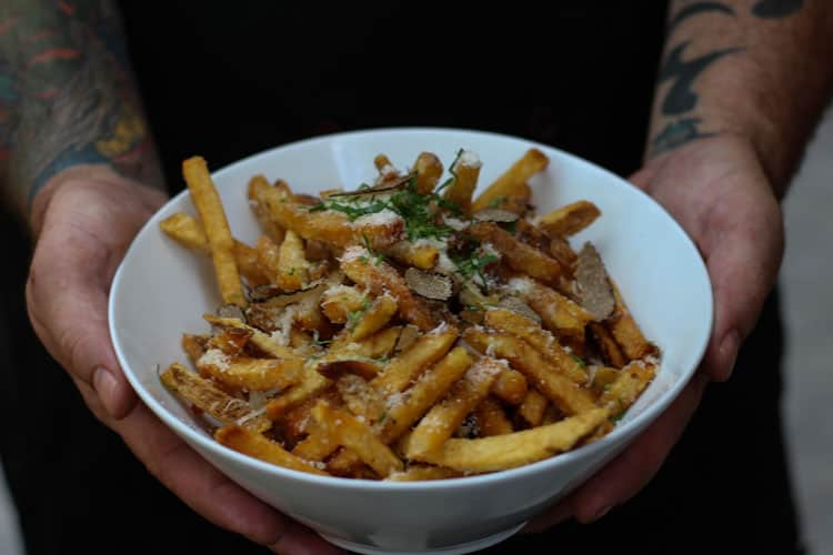 Fall Foods to Eat in Paris Truffle Fries
