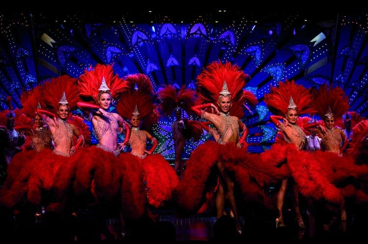 how to fall in love in paris - go to a Moulin Rouge Show in Paris