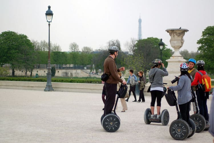 how to fall in love in paris - do a Paris Segway Tour