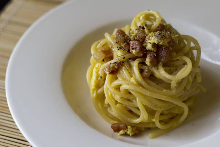 5 Dishes you have to Eat in Italy - Spaghetti alla Carbonara