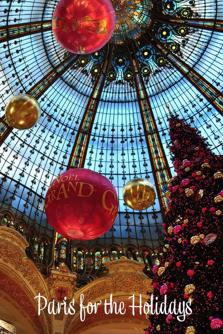 Paris for the Holidays