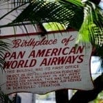 (Not quite) Wordless Wednesday #140: First Commercial American International Flight