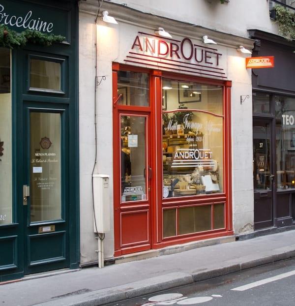 Androuet Cheese Shop Paris
