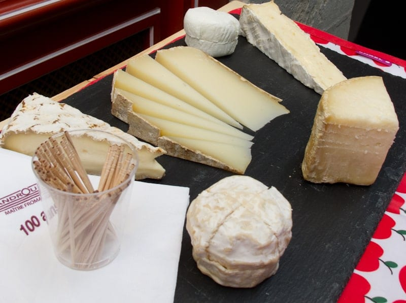 Androuet Cheese Plate