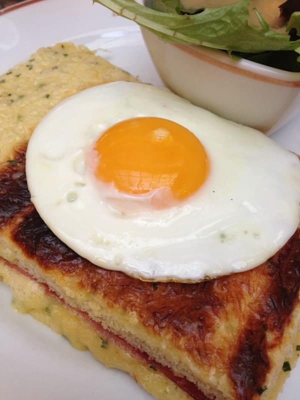 Angelina's Croque Madame