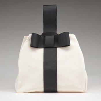 Faille Bow Bag