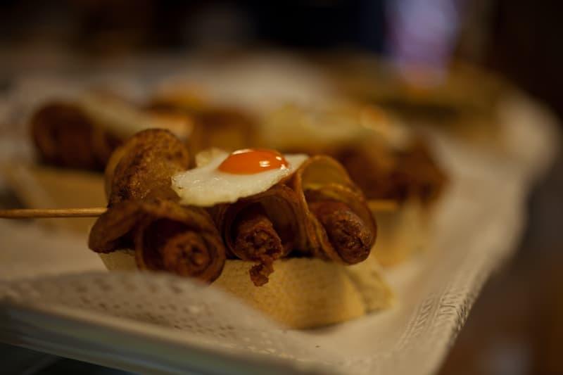 Quail Egg Pintxos Madrid
