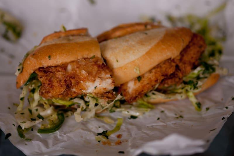 THE Bakesale Betty Fried Chicken Sandwich
