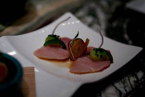 Shibuya Sashimi, Fresh Kizami Wasabi, Wasabi Oil, Hawaiian Red Salt