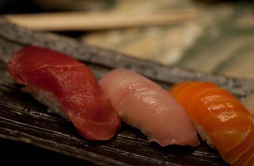 Shibuya Nigiri: Sushi Chef's Choice, Grated Fresh Wasabi Root