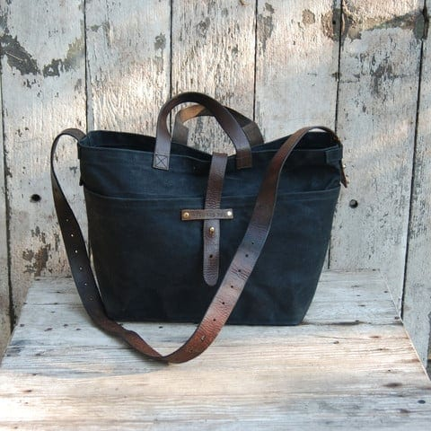 Tote from Peg and Awl