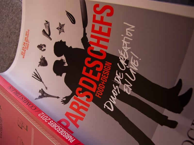 Paris de Chefs brochure