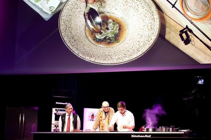 Blaine Wetzel at Paris des Chefs
