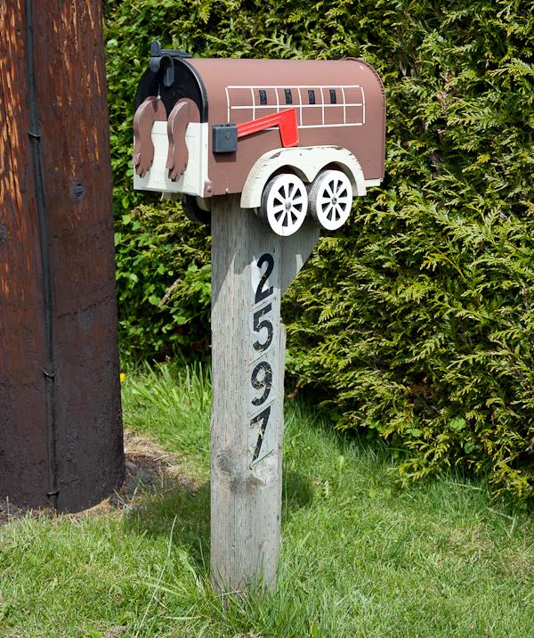 Lummi Island Mailbox