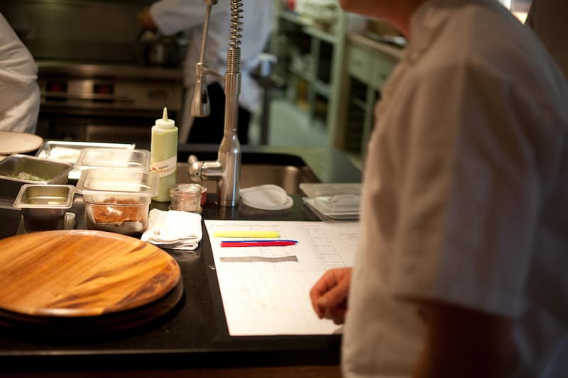 In the Willows Inn kitchen: Mastered organization ensures a smooth cadence to the evening