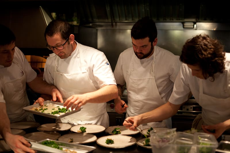In The Willows Inn Kitchen: A Precision Team