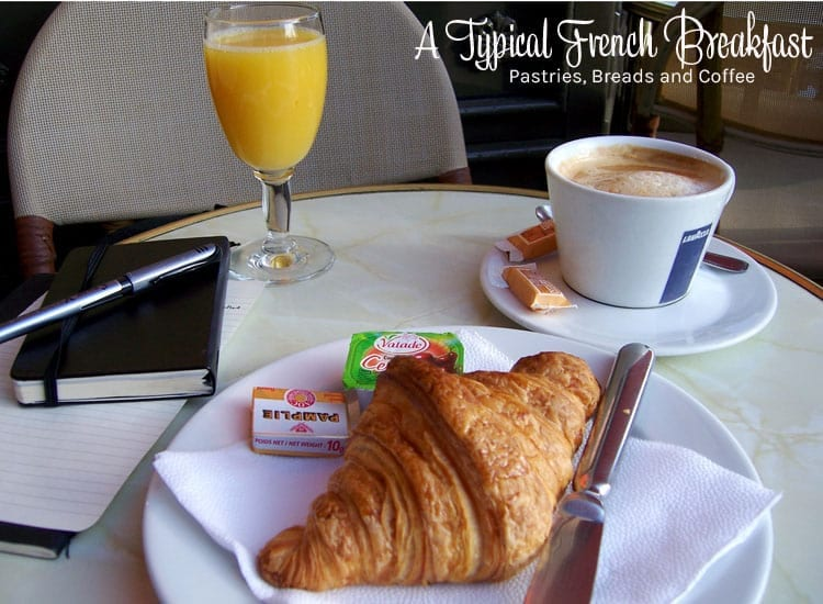 Good Morning In French To A Girl : A typical french breakfast