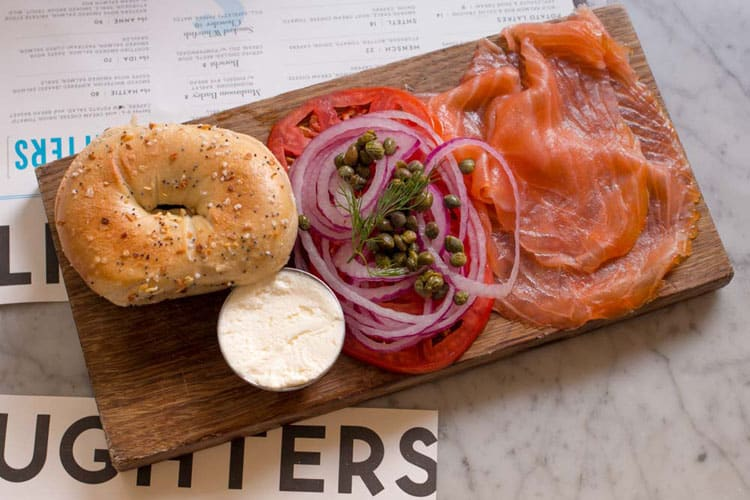 Best Brunches in New York - Russ & Daughters Cafe