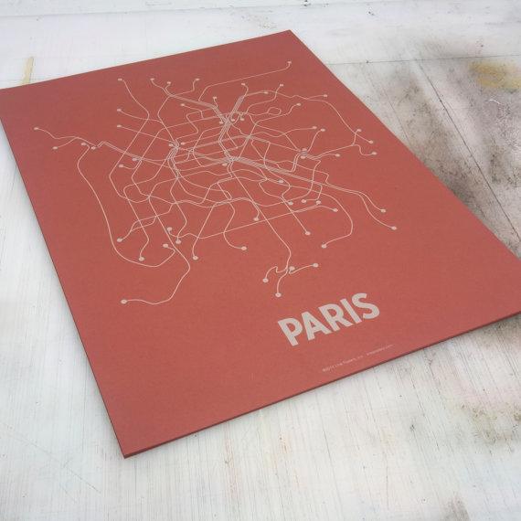 Paris-Line-Poster