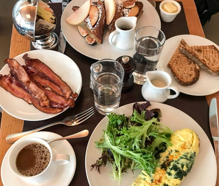 Best Brunches in New York - Café Cluny