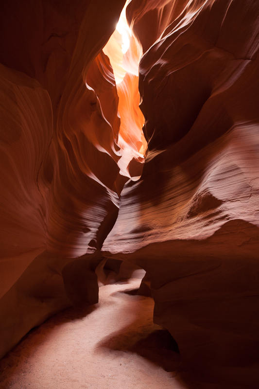 Inside Antelope Canyon
