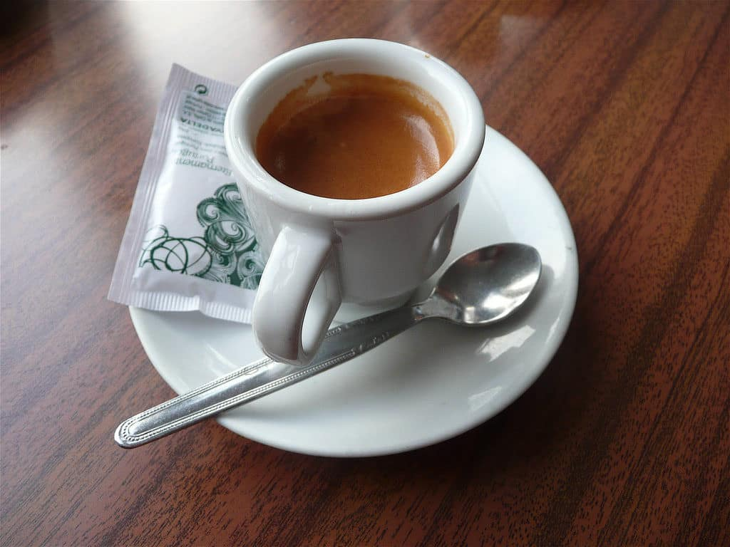 Coffee in Portugal Uma bica