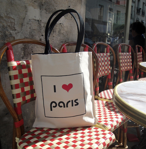 Kasia Dietz I love Paris bag