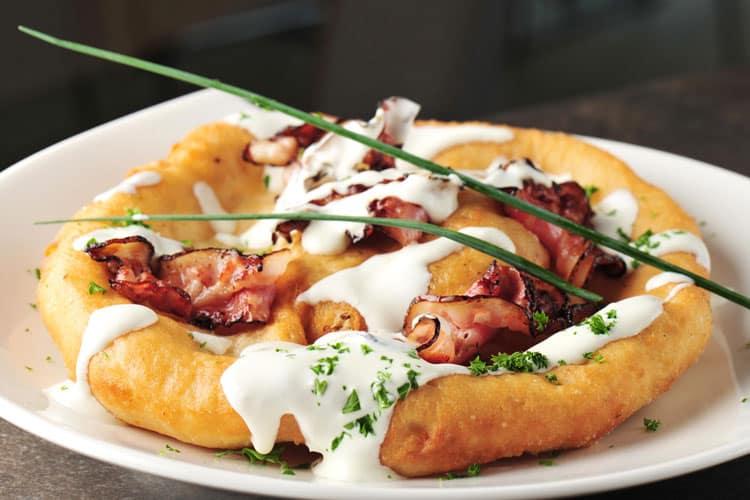 Traditional Hungarian Foods - Hungarian Langos