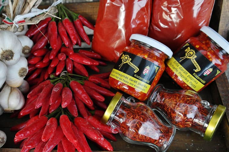 Traditional Hungarian Foods - Hungarian Paprika